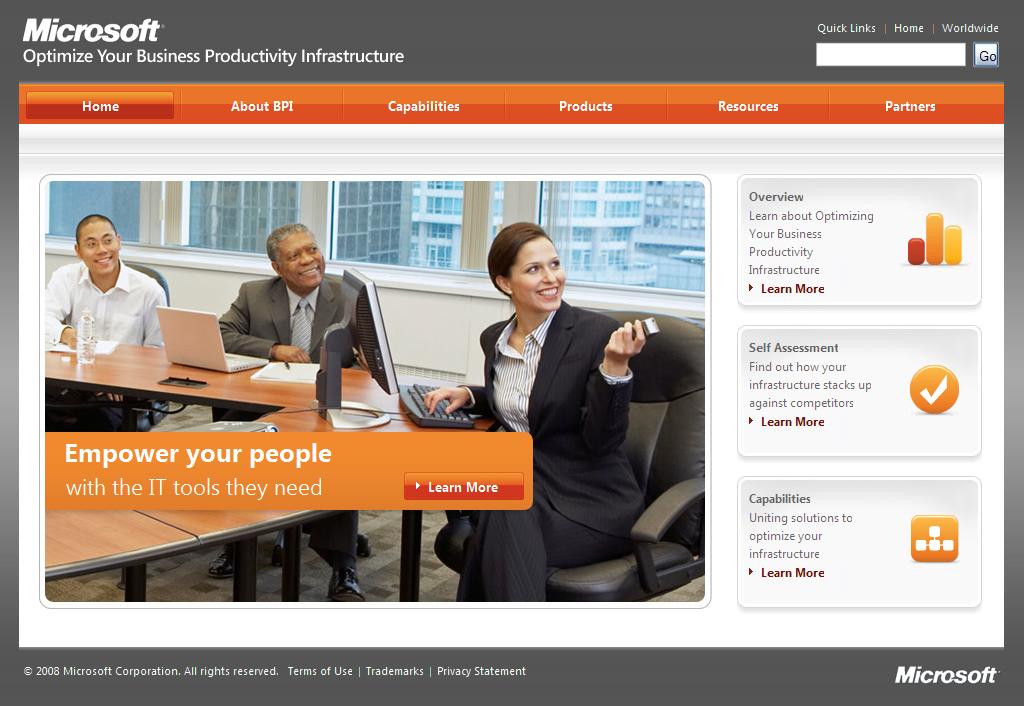 Microsoft - produtividade versão EUA